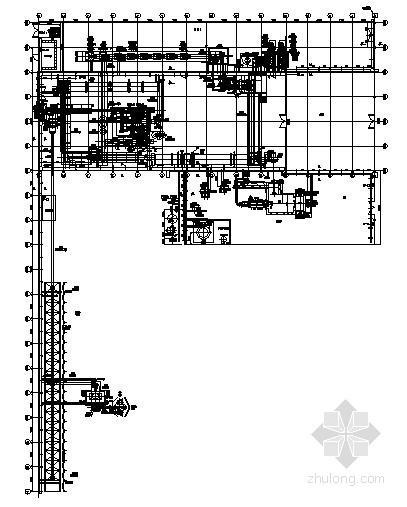 某化肥厂车间配电与电气设备控制原理图