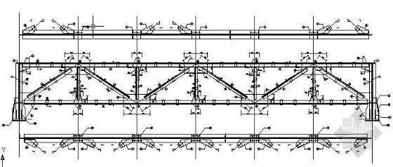 某89米钢桁架施工图