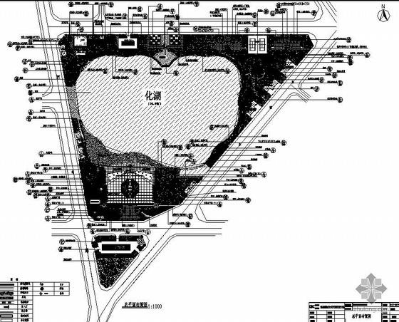 云南省湖区广场施工图全套珍藏版