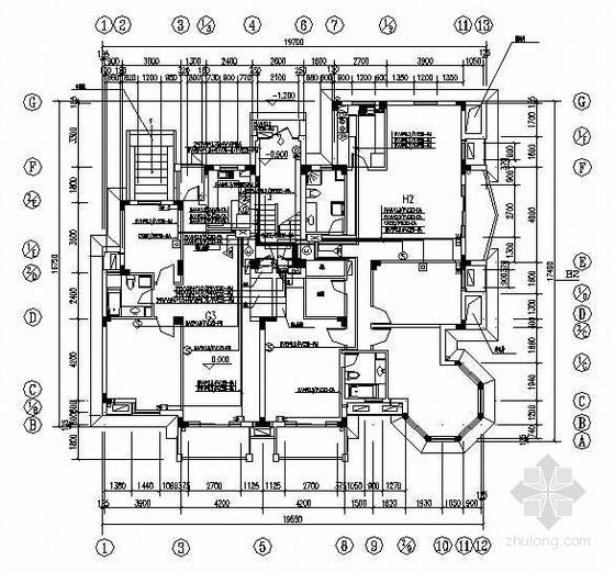 住宅楼智能化设计图纸