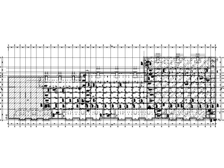 [山东]地下二层(局部三层)框架结构地下车库(结构施工图)