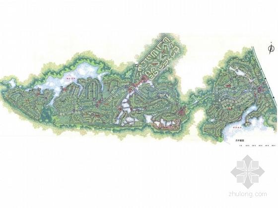 [海南]热带雨林养生谷总体概念规划设计方案
