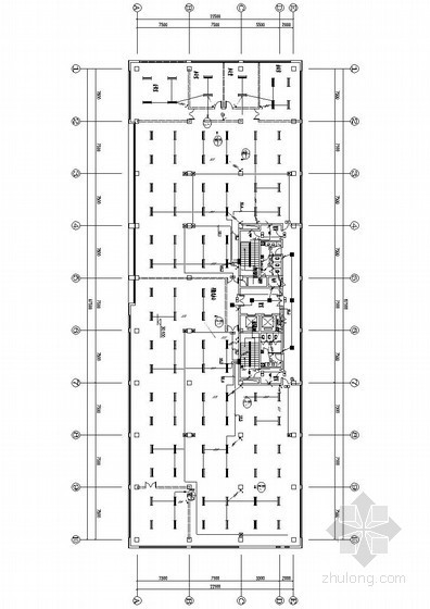[天津]开敞办公电气全套施工图(甲级院设计)