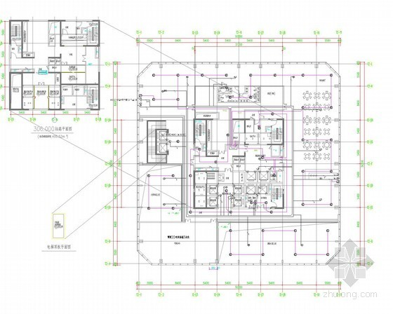 [贵州]400米七星国际酒店智能系统电施图62张(2014年设计 地标建筑)