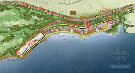 [山东]滨海小镇景观概念方案设计文本-交通设计