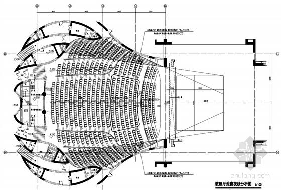 大型文化艺术会展中心平面图