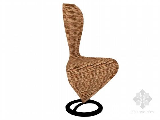 时尚座椅3D模型下载