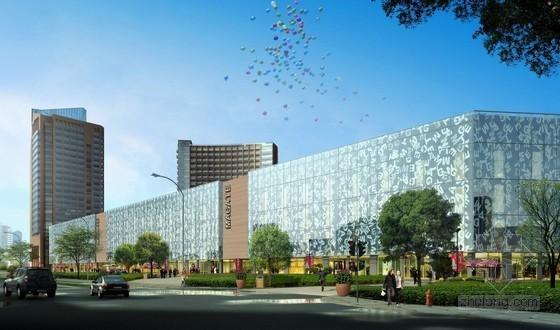 [黑龙江]商业、商贸中心智能化工程设计及施工招标文件(含建筑平面图)