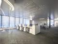 绿城•济南中心办公样板间设计案例分析 实景图