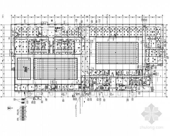 [江苏]甲级设计院游泳馆全套电气施工图纸37张