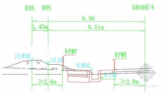 [安徽]I级干线铁路软土路堤及水塘路基施工方案49页(四区段八流程)
