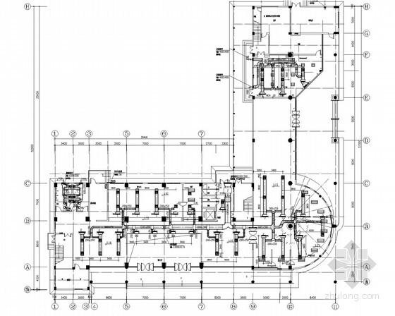 [广东]多功能用房办公楼通风空调系统设计施工图