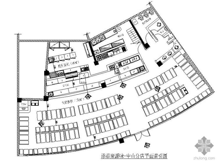 [广东]某中式快餐室内设计方案(含效果)