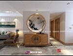 财富中心装修|财富中心日式风格装修设计案例