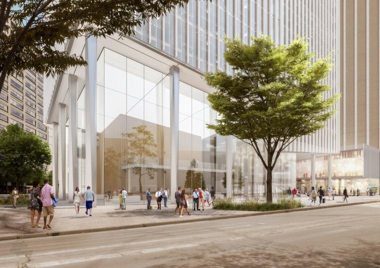美国底特律地标性城市总体规划-3