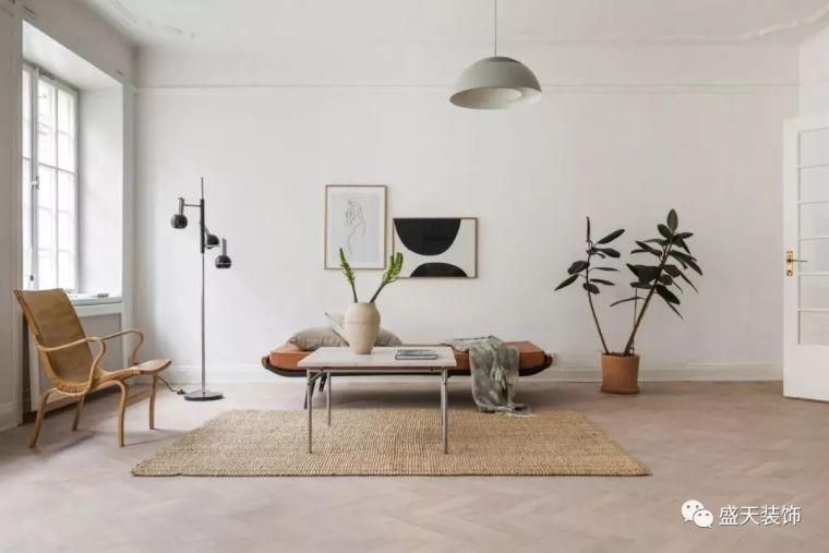 北欧复古风的软装,客厅布置成这样,一辈子都不过时