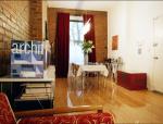古朴现代融合一居室室内装修设计实景图(19张)