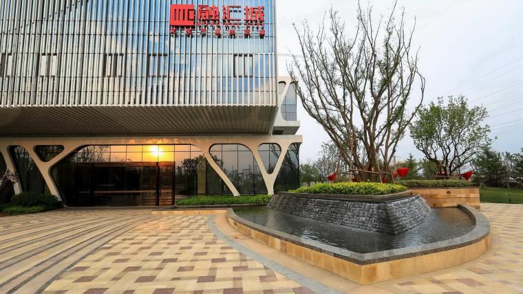 济南融汇城示范区景观-9