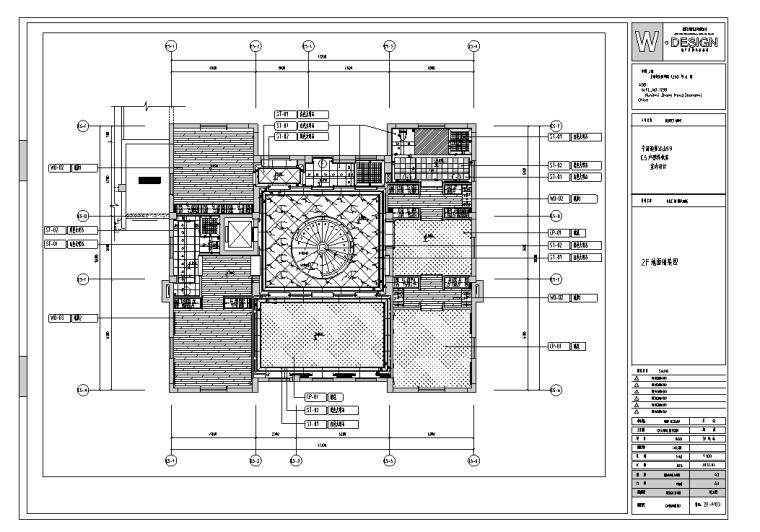宁波江山别墅样板房室内设计施工图及实景图(含72张图)