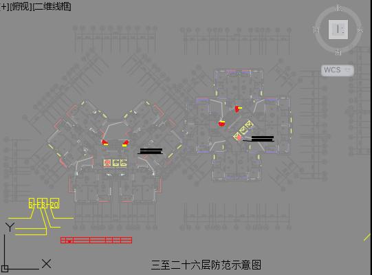 [广东]26层(地下3层)框剪集体宿舍视频监控系统工程量清单(图纸_3