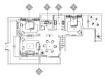 [云南]大理王宫别院下叠户型设计施工图(附效果图)