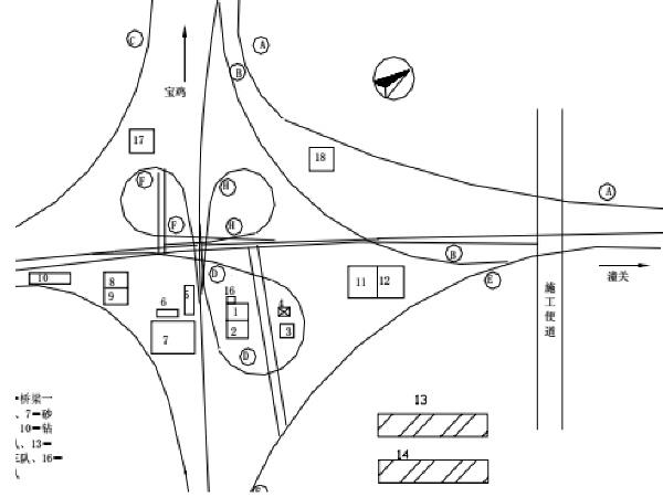立交桥施工组织实施方案