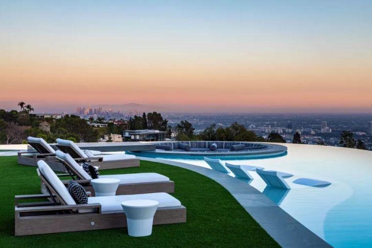 3.98亿的超级山顶豪宅,无比奢侈的观景台_13