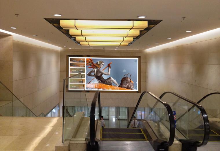 [北京]银泰中心商业公共区域设计施工图(附效果图+物料表+结构图纸+消防图纸)-4