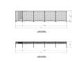 骨架膜结构停车棚结构施工图