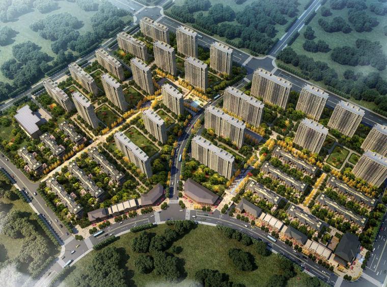 [江苏]扬州欧陆风格风格居住区建筑方案文本(PDF+107页)