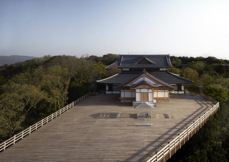 日本山顶玻璃茶馆_4