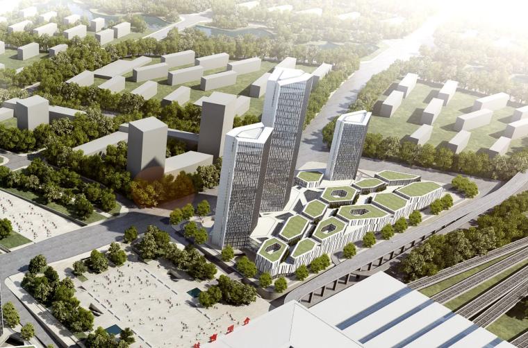 [安徽]酒店式公寓办公楼城市综合体设计方案文本(PDF)