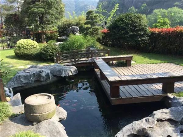 南京庭院设计中建造锦鲤鱼池需要注意五大事项!
