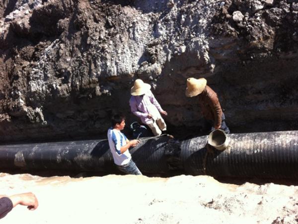 [QC]市政工程确保HDPE污水管道施工质量