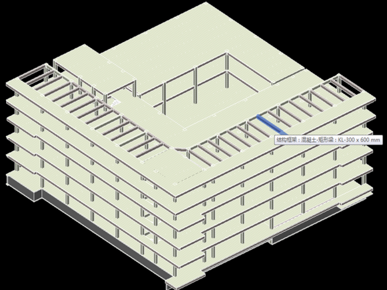 土建结构模型