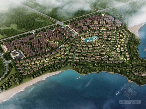 [青岛]知名地产英式风格文化旅游小镇规划设计方案文本(两种方案)