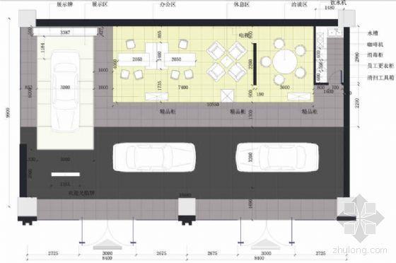 名车销售中心设计方案及报价