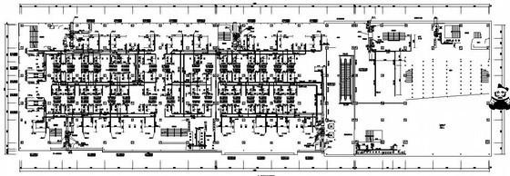 [山东]商业中心空调通风设计施工图