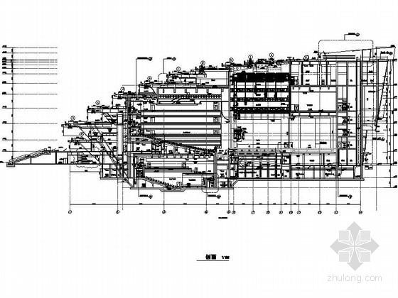 省级大剧院建筑总平面图
