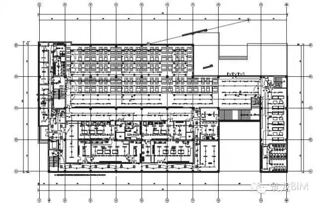 BIM电气案例丨大学学生公寓与学生食堂_13