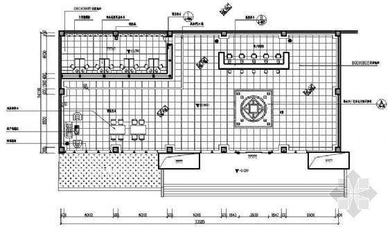 某商业银行分行营业厅装修图