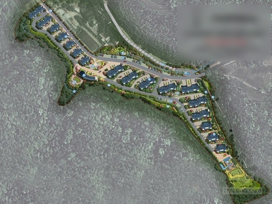 [杭州]江南水乡商业居住区景观规划设计方案