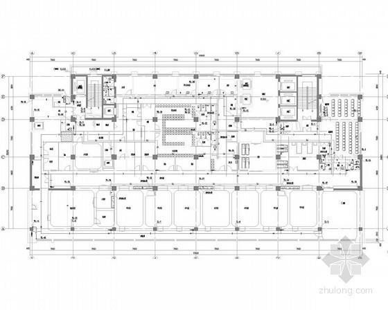 [河北]高层医院给排水消防施工图(气体导管系统 太阳能集热系统)