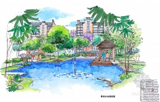 [江苏]新中式老街景观方案设计文本-效果图