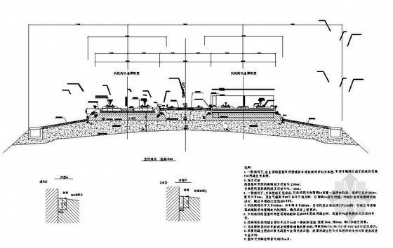 高速铁路路基地段无砟轨道横断面节点详图设计