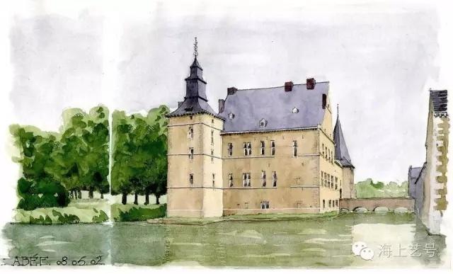 从国外建筑师手绘表现看色彩原理的应用_5
