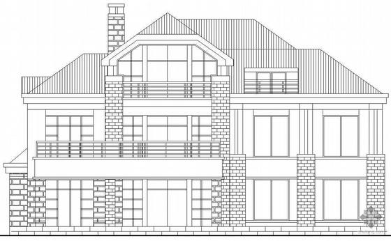 某三层别墅建筑施工图