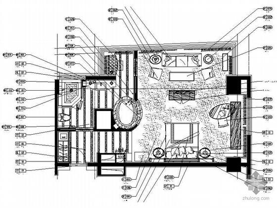 国际酒店标准客房装修图Ⅱ