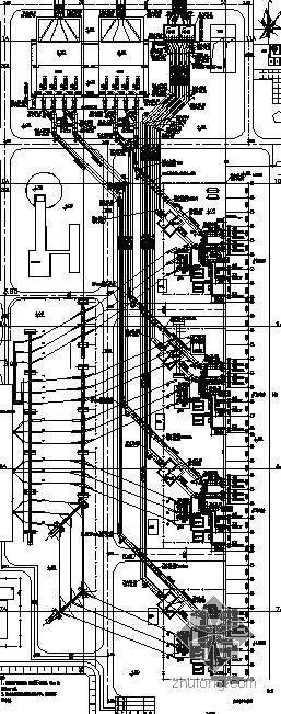 某4X600MW电厂循环水管道安装图纸