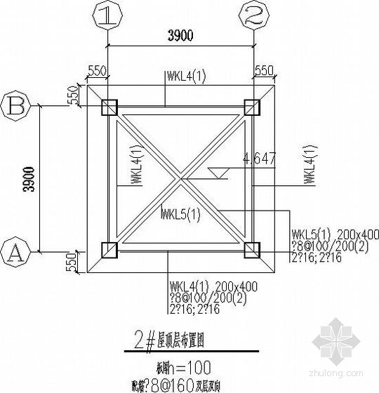 [四川]安置房门卫室框架结构施工图